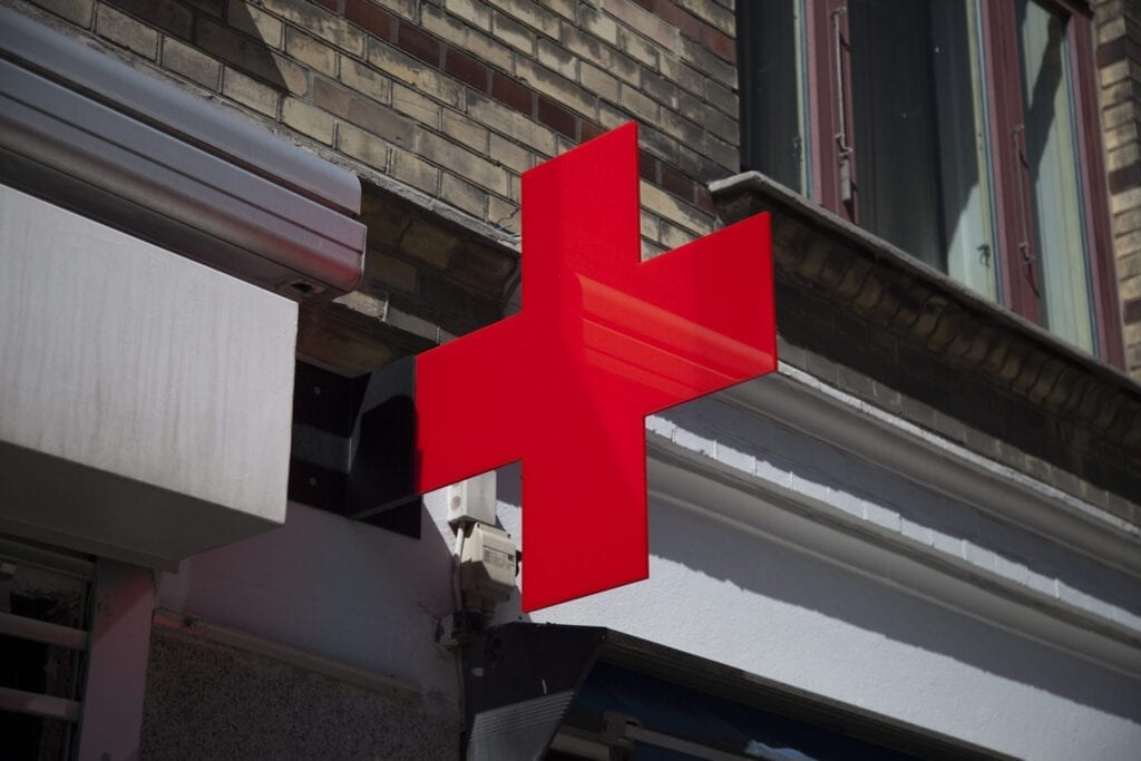 red cross and workpoint