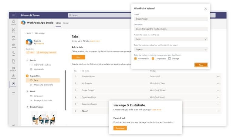 Microsoft Teams and WorkPoint